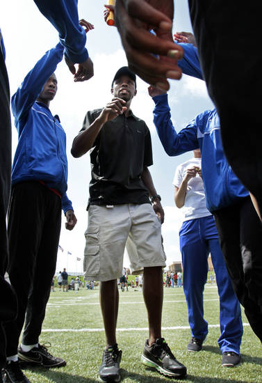 Track Coach James Hall