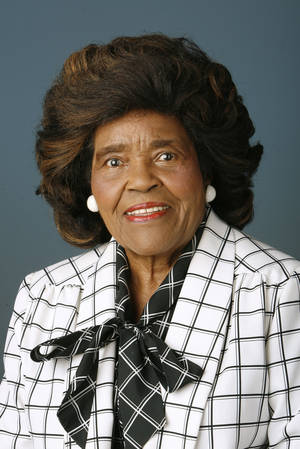 Thelma Parks in a photo from 2009
