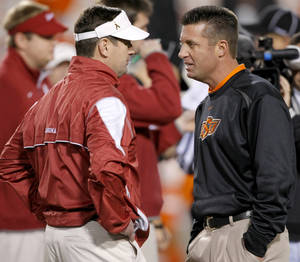 Stoops vs Gundy
