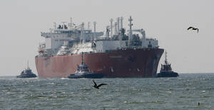 Energy Dept. backs Texas LNG export plan